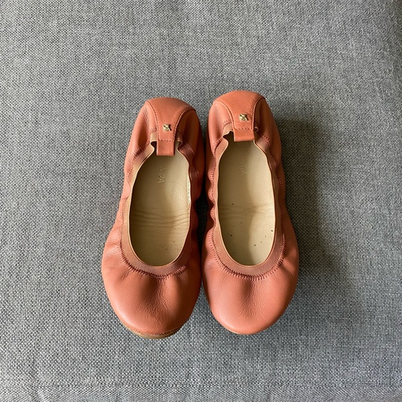 Yosi Samra ballet flats in pink size 7.5